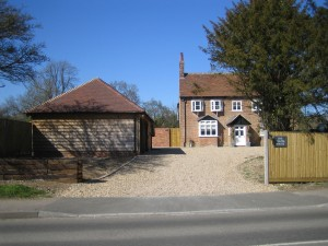 Hampshire Architect, Listed Building Refurbishment, Near Winchester (Entrance Relocated for Kerb Appeal)