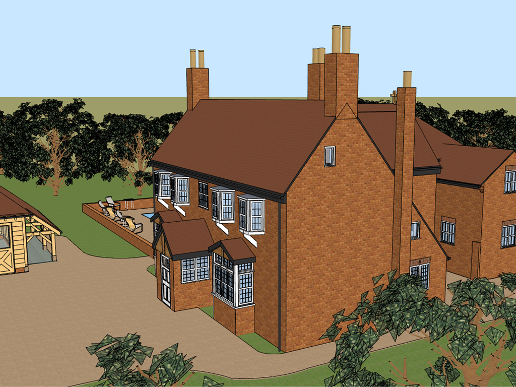 Listed building refurbishment near winchester hampshire for Find an architect near me