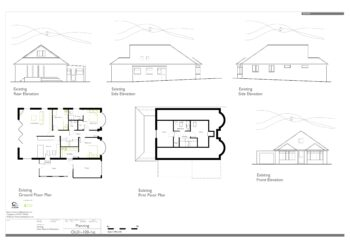 Hampshire Architect AC Design Example Planning Drawing