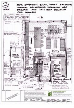 Hampshire Architect Sketch Floor Plan A