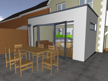 Hampshire Architect, Extension and Refurbishment, Hamble (Exterior)