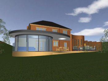 Hampshire Architect, Sunroom & Outdoor Kitchen, Chandler's Ford (Walk-through on Your Tablet)