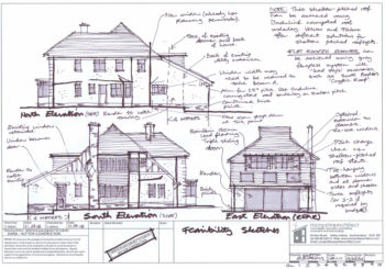 Hampshire Architect (Consultation Sketch Elevations)