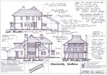 Hampshire Architect (Consultation Sketch Elevations)