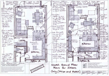 Hampshire Architect (Consultation Sketch Plan Options)