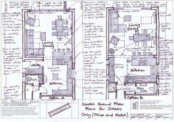 Hampshire Architect (Consultation Sketch Plan Options)